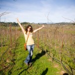 Me tripping throught the vines