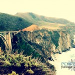 The Bixby Bridge.