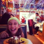 Addy's b-day dinner at Mi Tierra in San Antonio, TX.