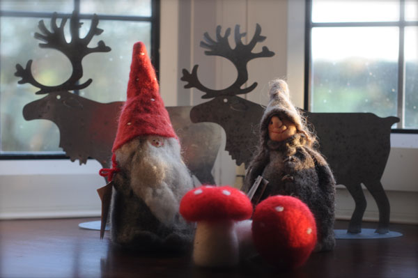 Nisse decorations